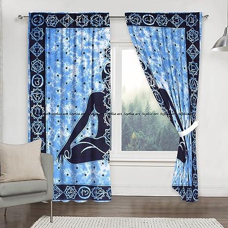 Amazoncom Sophia Art Indian Meditation Shower Curtain Living Room