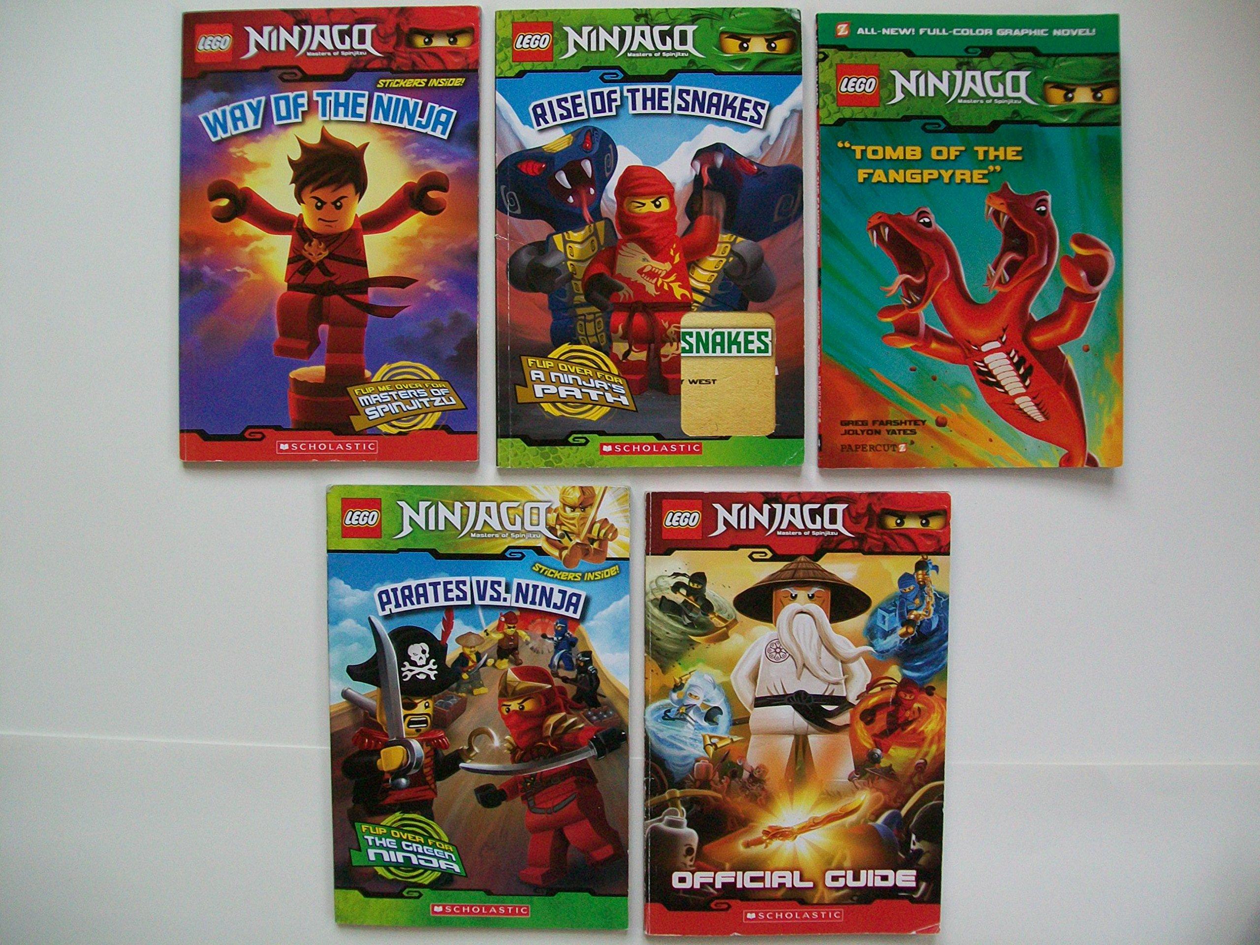 Ninjago (Set of 5) Way of Ninja; Rise of Snakes; Tomb of ...