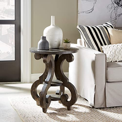 Magnussen Bellamy Round Accent End Table