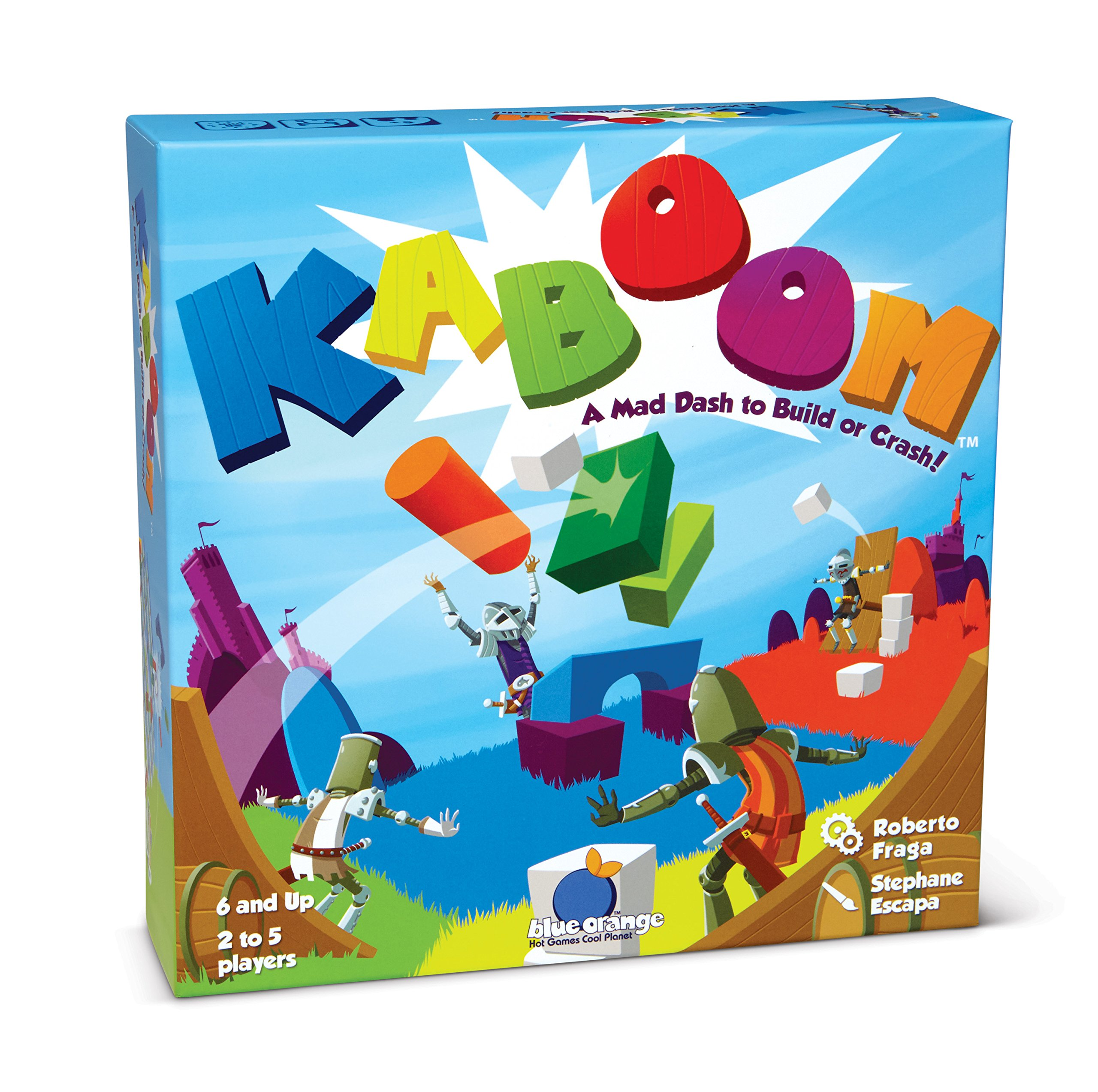 Kaboom Family Action Game 4