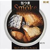 K&K 缶つまスモーク さば 50g