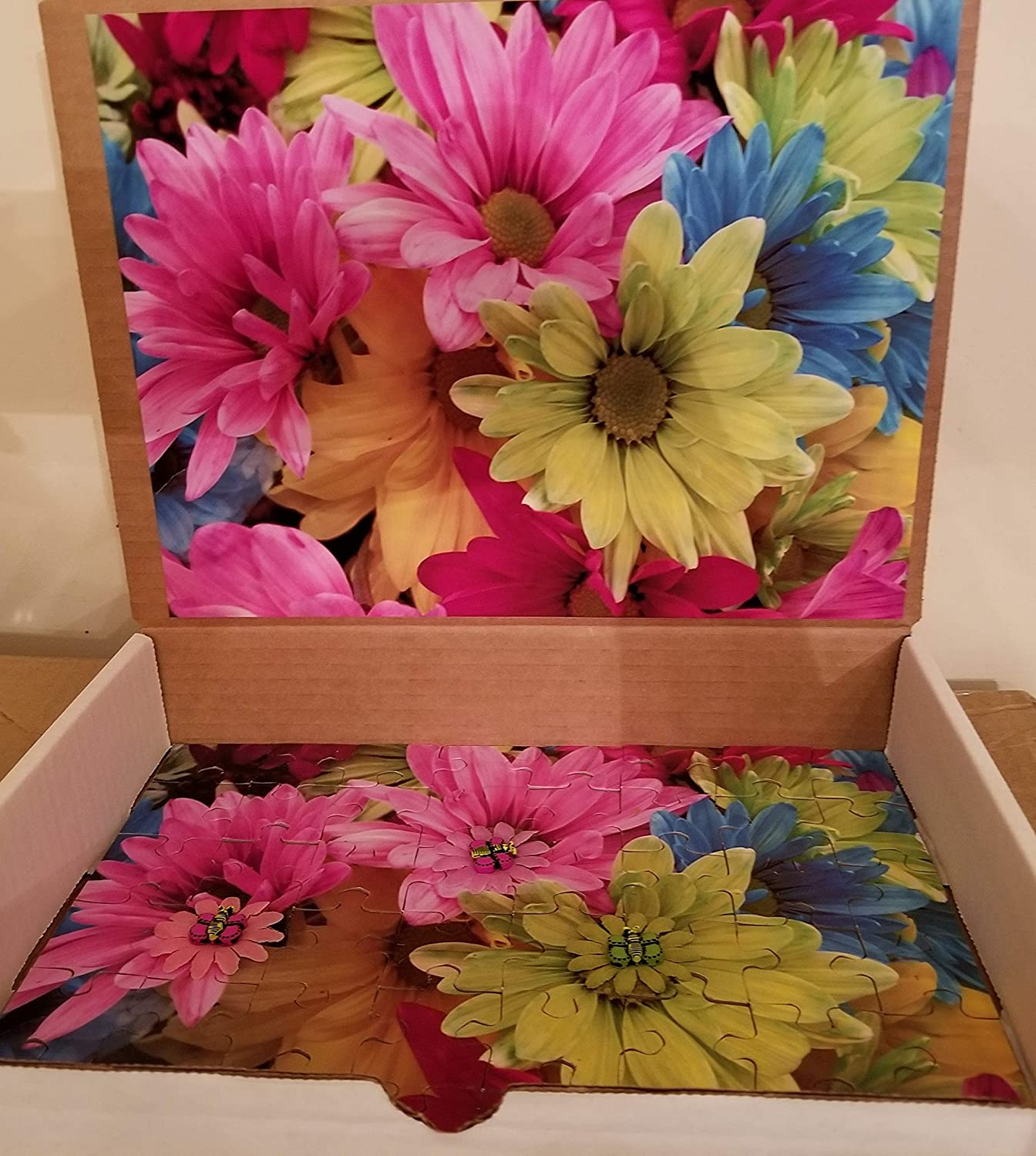 Sensory Jigsaw Puzzle for Spring