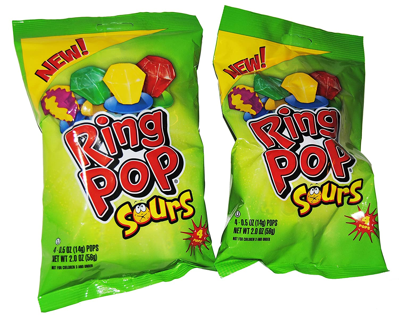 Sour Ring Pops (2 Pack)