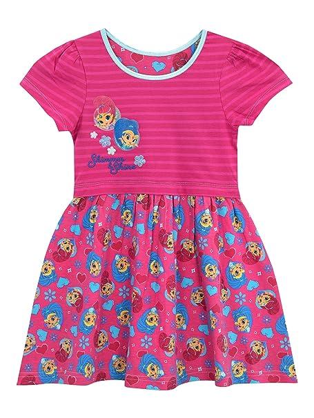 Shimmer & Shine Vestido para niñas Rosa 2 - 3 Años