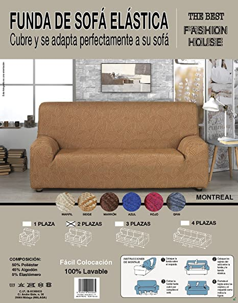 the best fashion house Funda de Sofa Elastica Universal ...