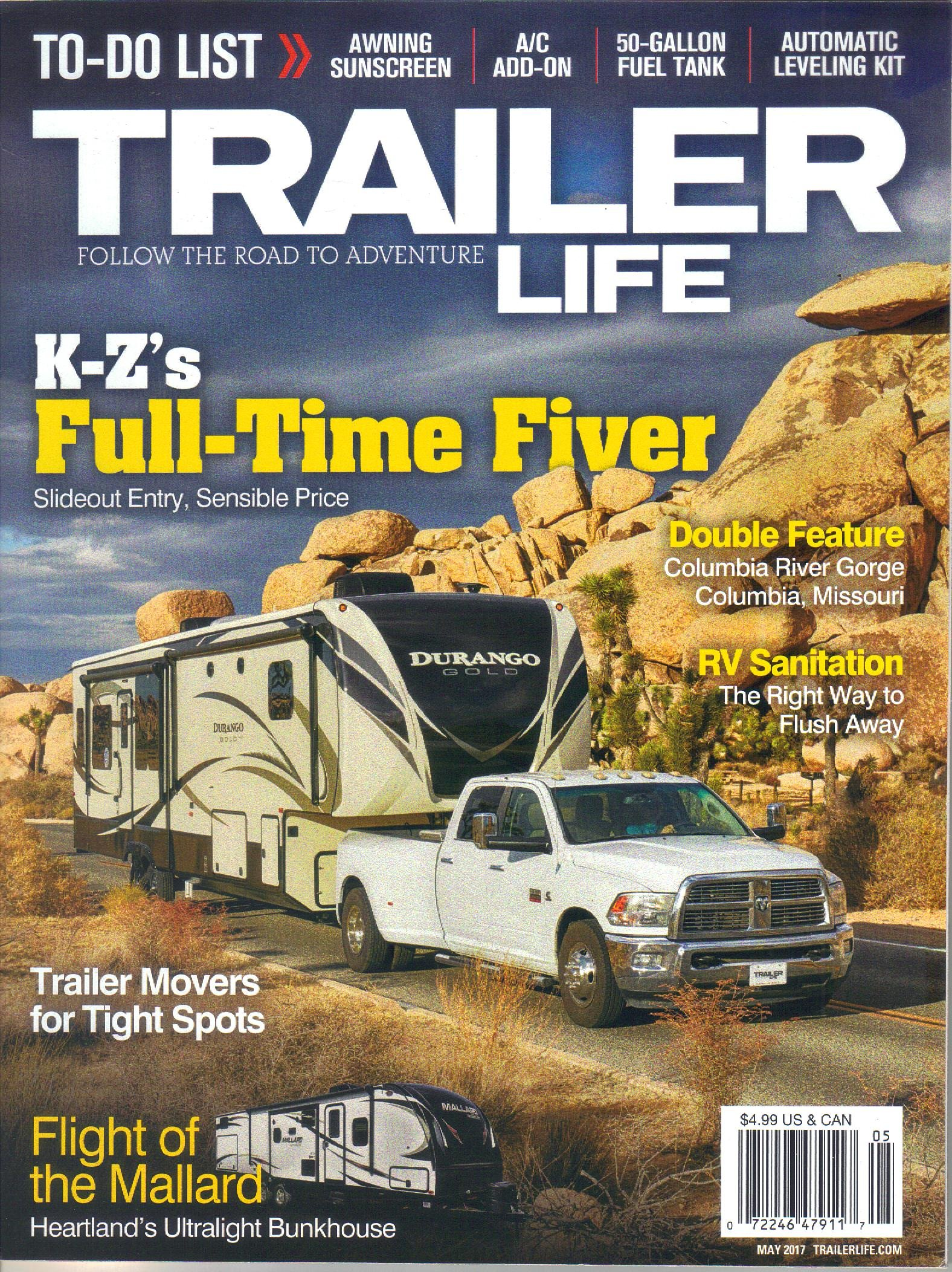 Trailer Life Magazine, May 2017 (Vol. 77, Issue 5) pdf