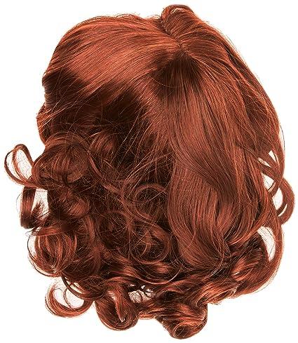 American Dream bella parte monofilamento, sintético peluca, cacao rojo