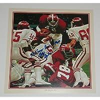 $39 » Major Ogilvie Signed Autographed Auto Alabama Crimson Tide Daniel Moore Calendar Print w/1980 Sugar Bowl MVP - Proof