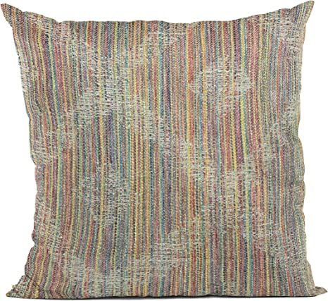 Amazon Com Plutus Brands Multi Color Plutus Diamond Abstract Luxury Throw Pillow 16 In X 16in Double Sided 16 X 16 Home Kitchen