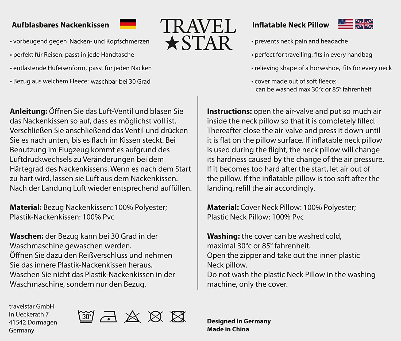 travelstar TS f-1000 2 en 1 Coussin Allemagne-Maillot de Football-Shirt pour Pillow Femme Allemagne