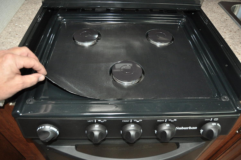 Rv Stove Oven >> Amazon Com Stove Wrap Swrv400 Stove Protection For Rv Stovetop And