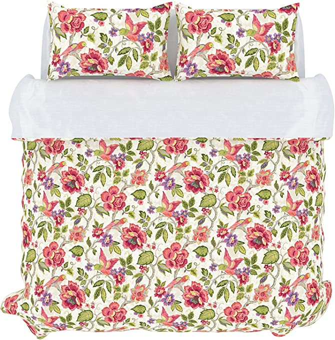 Amazon Com Stylemaster Home Products Colorfly Tess 210 Thread Count Duvet Cover Set Full Queen Orchid Home Kitchen