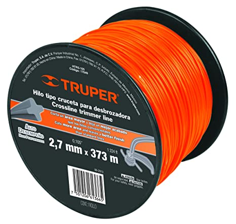 TRUPER HTR5-105 Cross Section String Trimmers Lines 7/64 ...