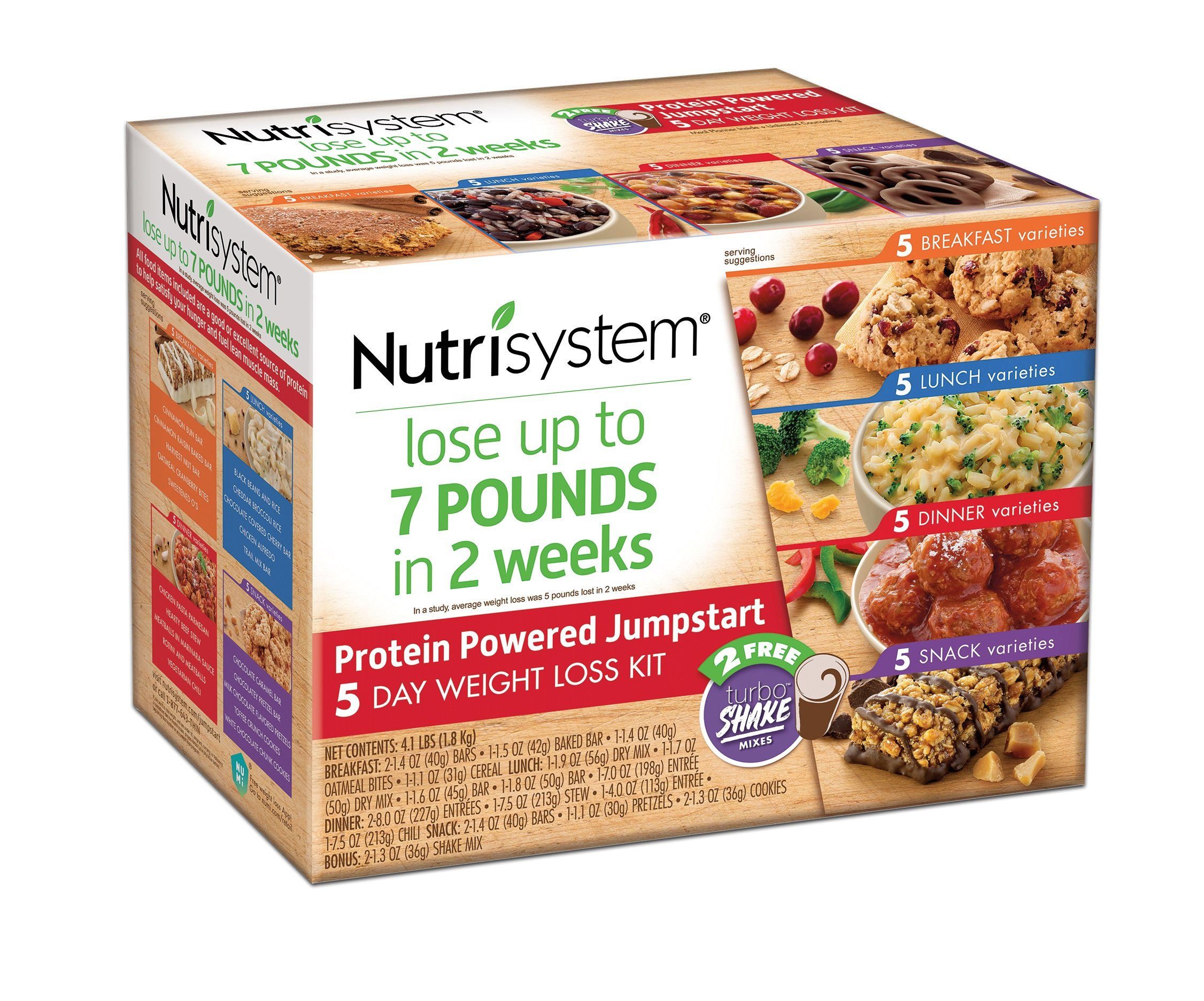 Nutrisystem 5 Day Weight Loss Kit, Protein Powered Jumpstart by Nutrisystem