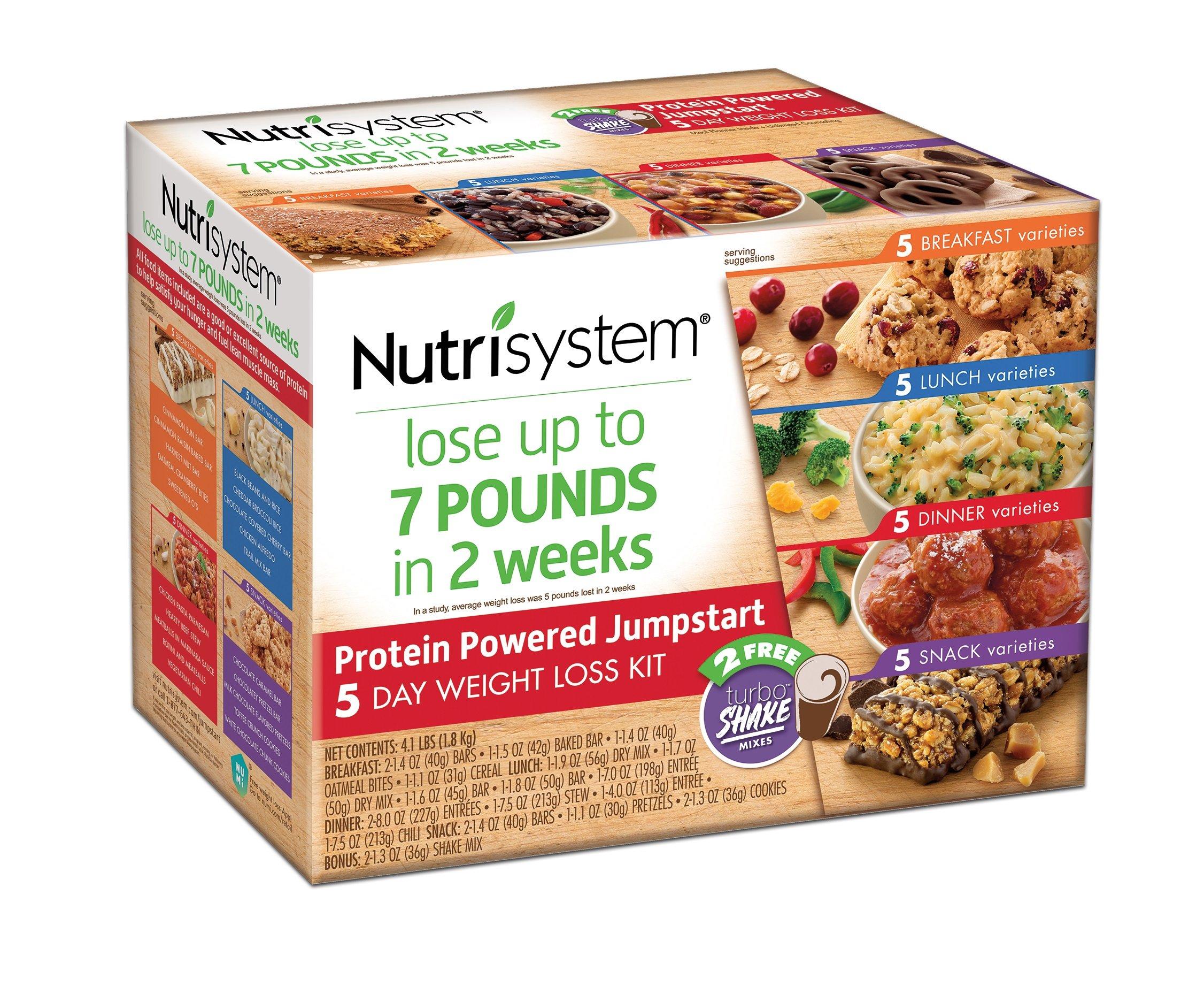 Nutrisystem® Protein Powered Jumpstart 5 Day Weight Loss Kit