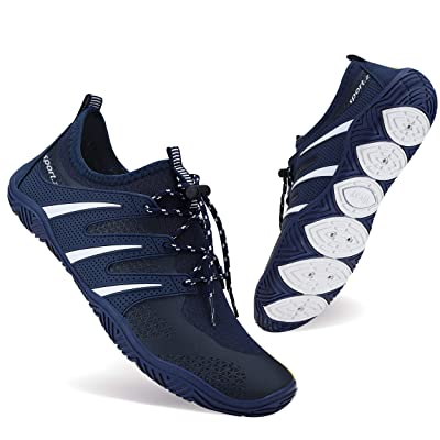 BAGGII Mens Womens Water Shoes Quick Dry Barefoot Aqua Shoes Beach Sports Shoes for Boating Surfing Swimming Yoga | Water Shoes
