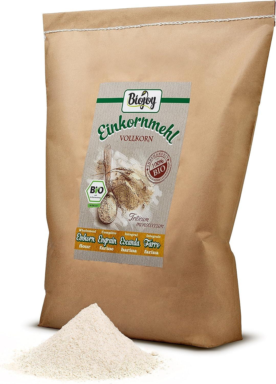 Biojoy Harina de escanda integral BÍO, Triticum monococcum (5 kg ...