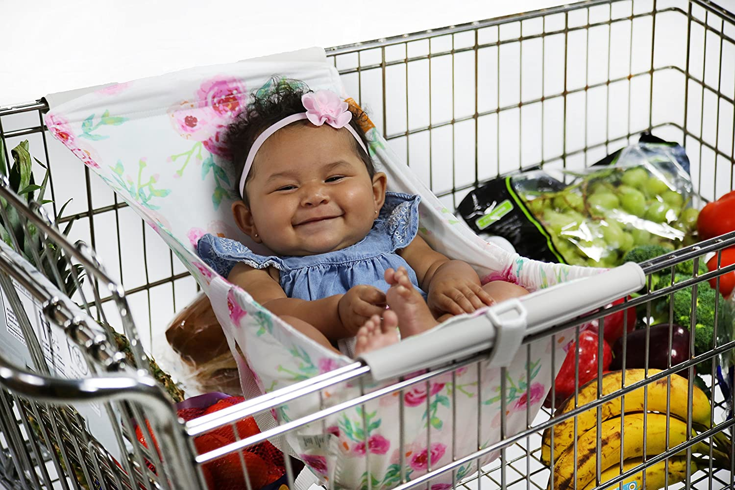 Binxy Baby Shopping Cart Hammock (Full Bloom) LP-008FB