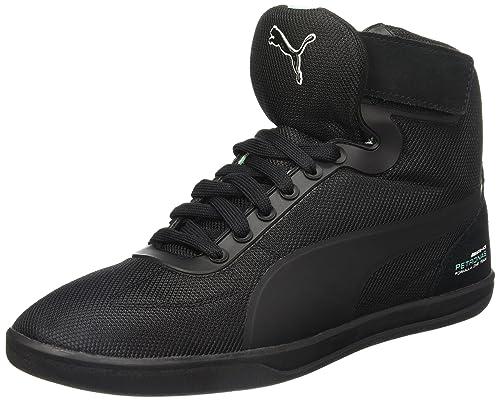 Puma Men s MAMGP Upole Nico Black and Opal Leather Safety Shoes - 12  UK India 197599cd7