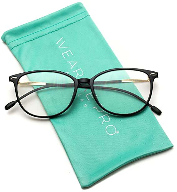 e87c5c2bc46 Image Unavailable. Image not available for. Color  WearMe Pro - Elegant  Classic Thin Frame Women Cat Eye Prescription Glasses