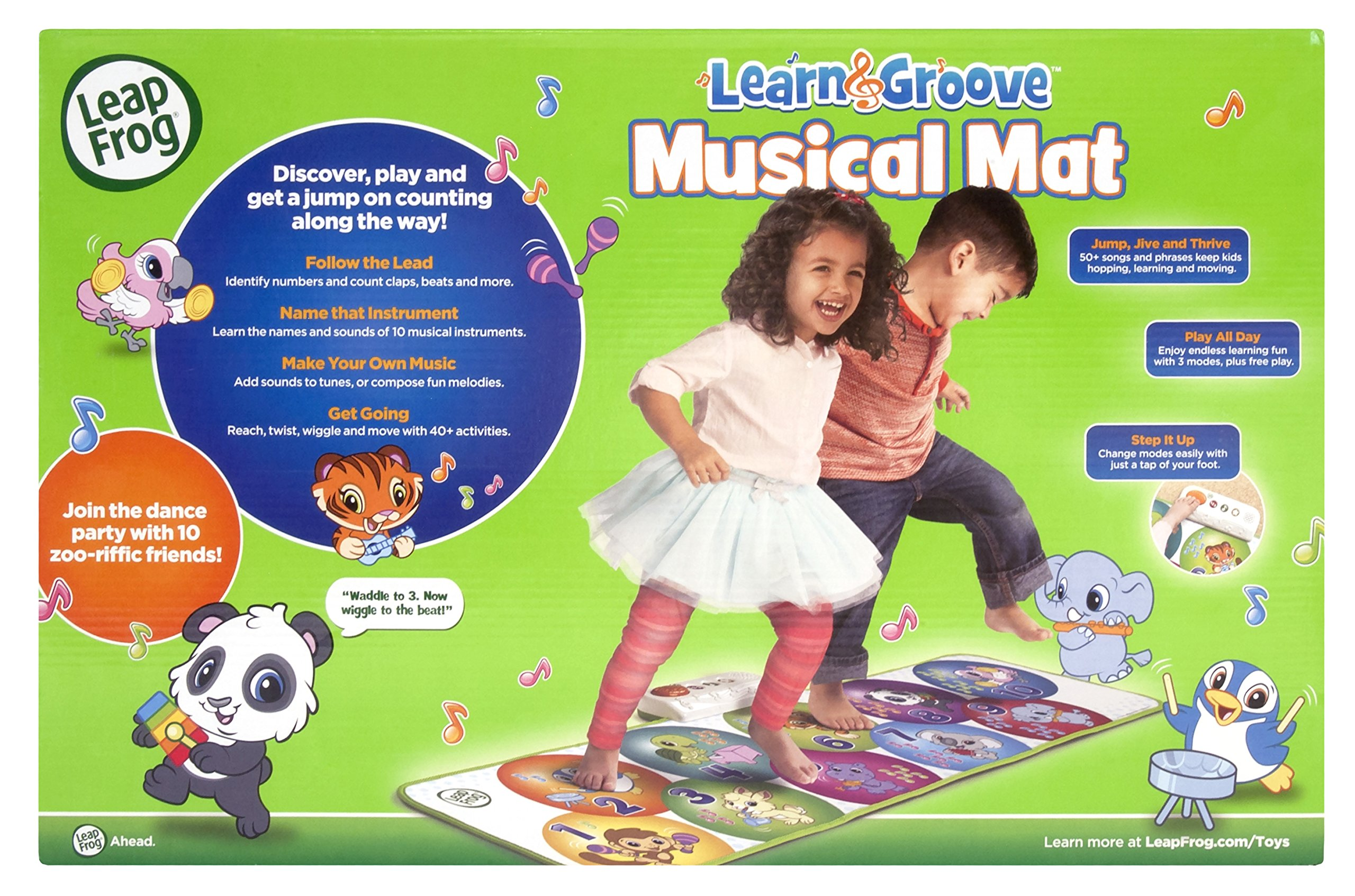 LeapFrog Learn and Groove Musical Mat, Green by LeapFrog (Image #6)