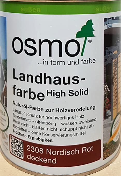 Perfekt Osmo 2308 Country Colour Nordic Red 0.75L