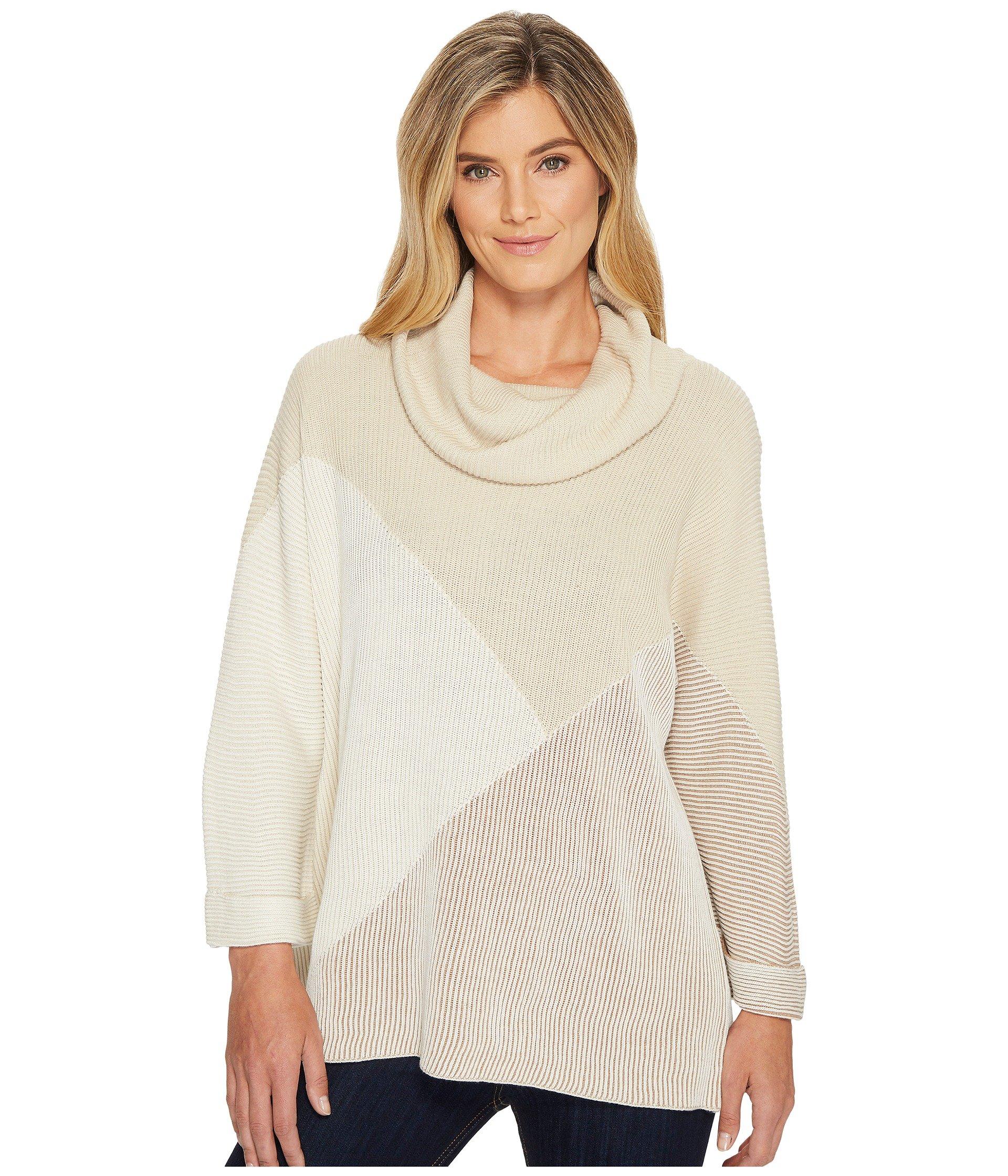 NIC+ZOE Women's Linear Cozy Top, Multi, XL