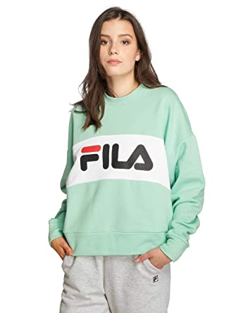 Fila Damen Sweater Leah Crew Sweater: Amazon.de: Bekleidung