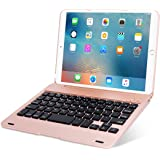 ONHI Wireless Keyboard for iPad Mini Keyboard Case, Folio Flip Smart Cover for iPad Mini 3/ iPad Mini 2/ iPad Mini 1 with Fol