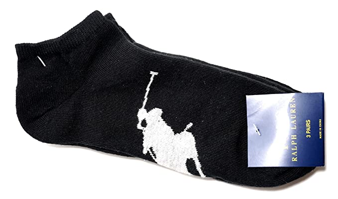 Polo Ralph Lauren - Calcetines de deporte - para hombre Negro negro Talla única