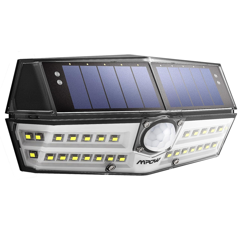 Solarlampe für Außen【INNOVATIVE VERSION】Mpow 30 LED Solarleuchte