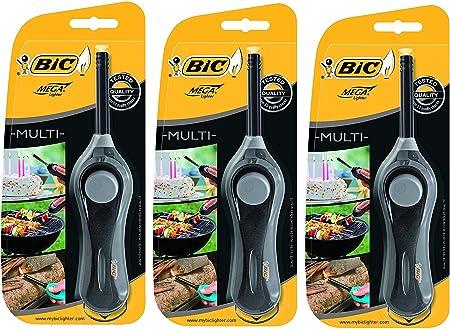 Amazon.com: Nuevo encendedor BIC - Azul o Negro, 3 unidades ...