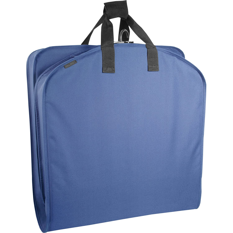 WallyBags 40 Inch Garment Bag, Black, One Size 756