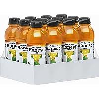 12-Pack of 16.9 Fl. Oz Honest Tea Organic Fair Trade Half Tea