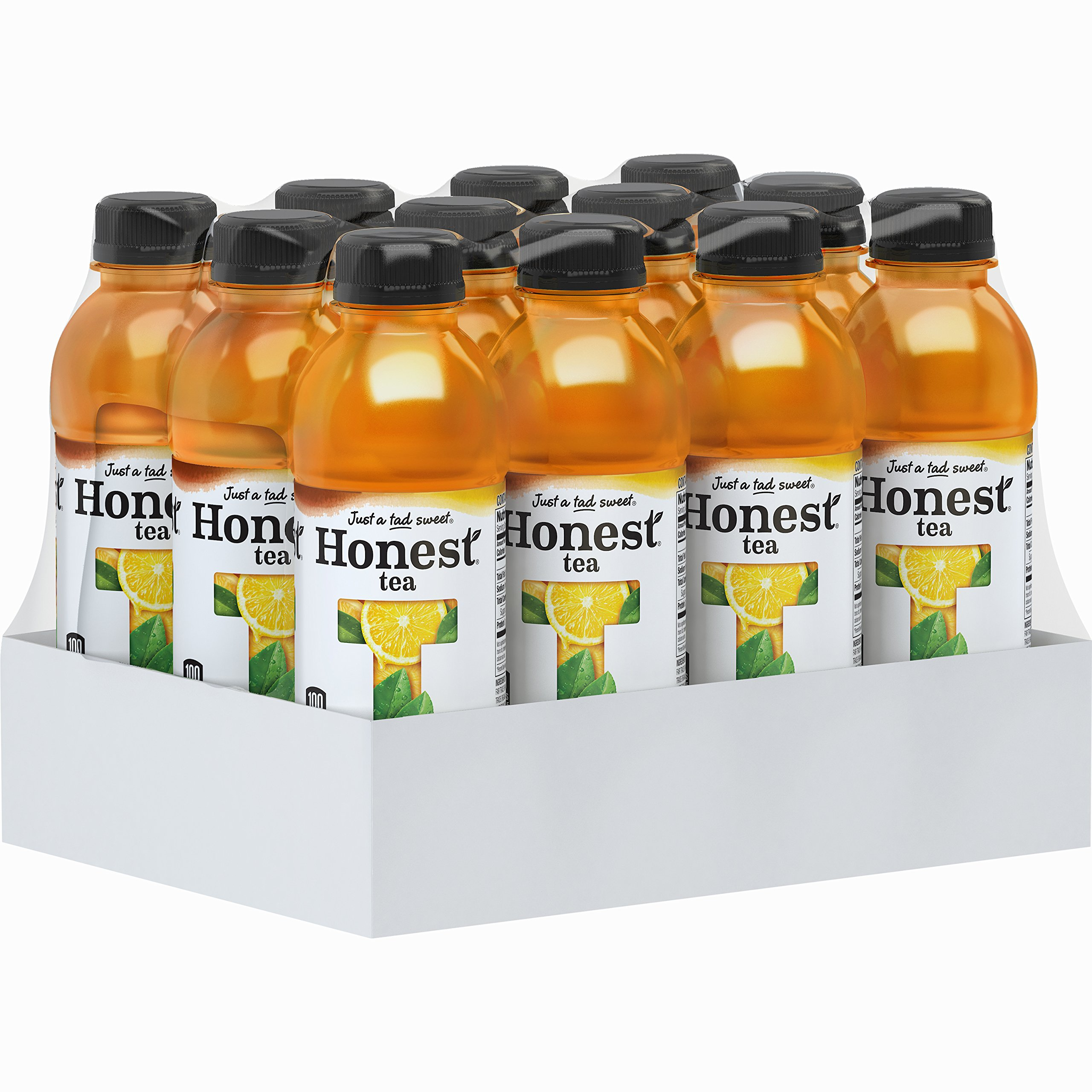 Honest Tea Organic Fair Trade Half Tea & Half Lemonade Gluten Free, 16.9 fl oz, 12 Pack