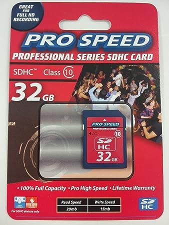 Amazon.com: Comandante Pro Speed 32 GB Professional Series ...