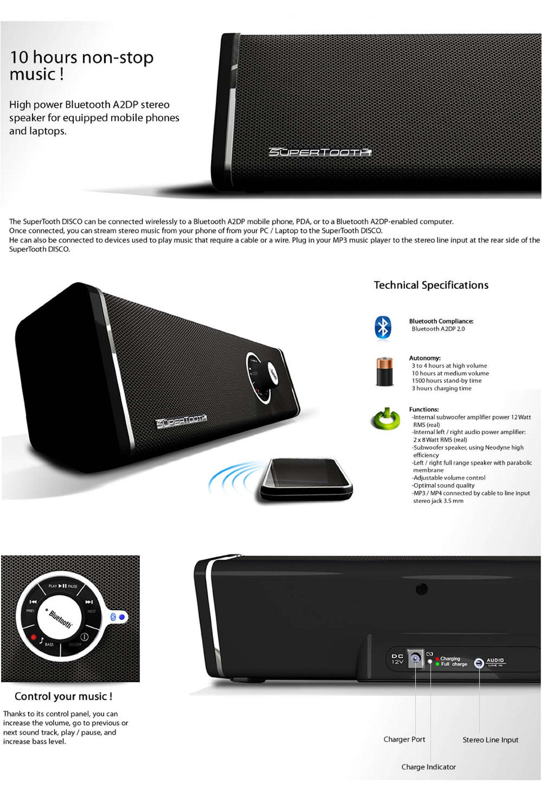 Travel Leatherette Sleeve For Samsung Galaxy Tab S 10.5 / Galaxy Tab 4 10.1 / Galaxy Tab Pro 10.1 + Bluetooth Speaker by VangoddyCase (Image #7)