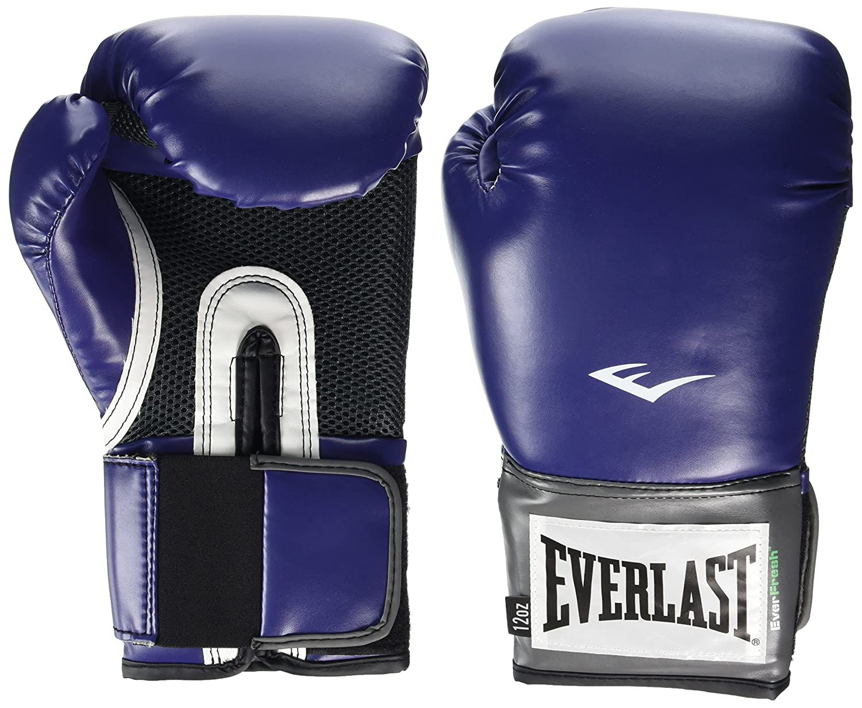 Everlast Pro Style - Guantes de boxeo de entrenamiento, color: Azul marino Talla:14 oz