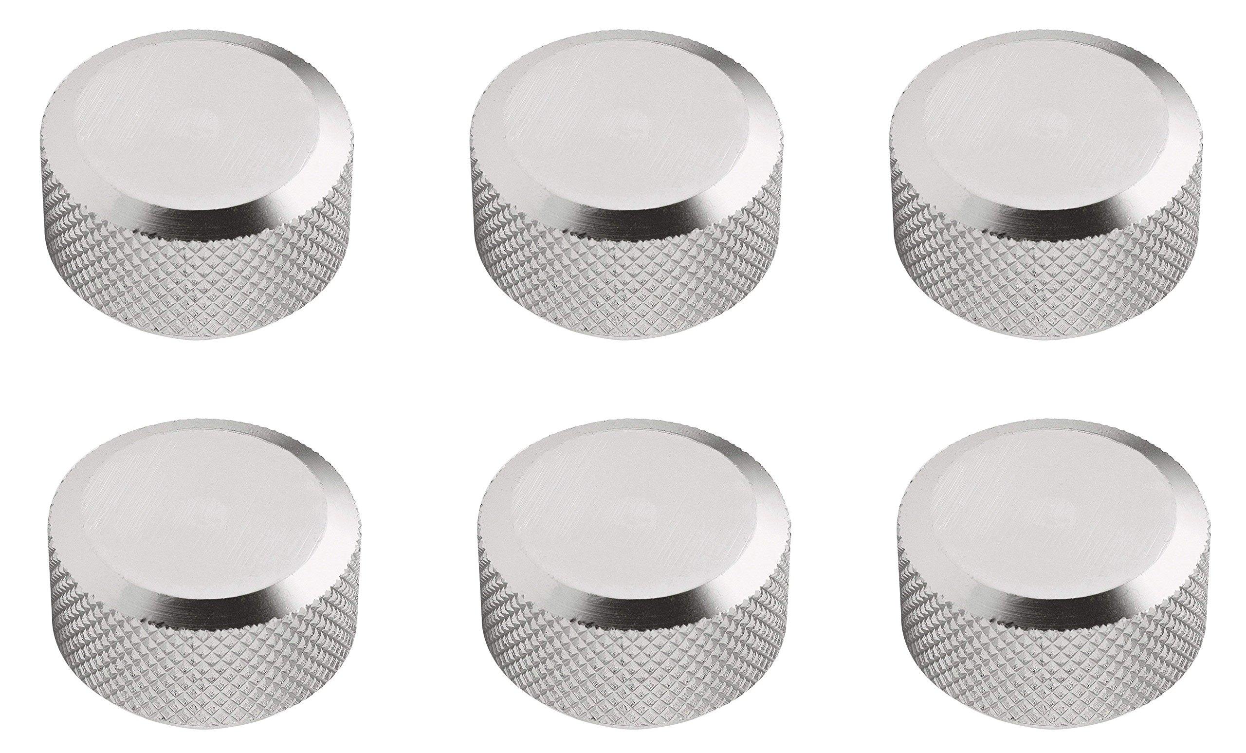 Mr. Gasket 5326 Clear Aluminum Custom Air Cleaner Nut (6)