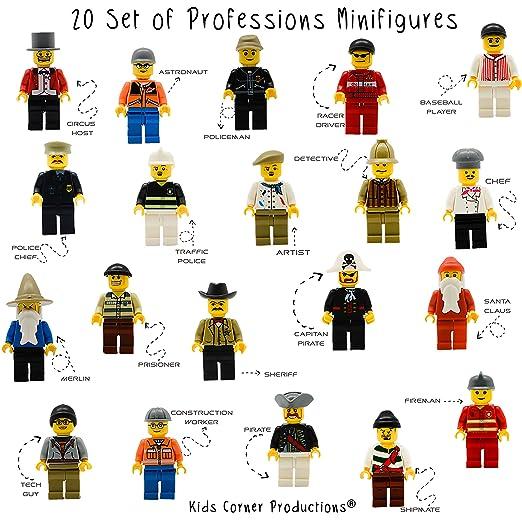 16 opinioni per Kids Corner Productions®- 20 Mini-Pieces Set of Professions- Policeman, Fireman,