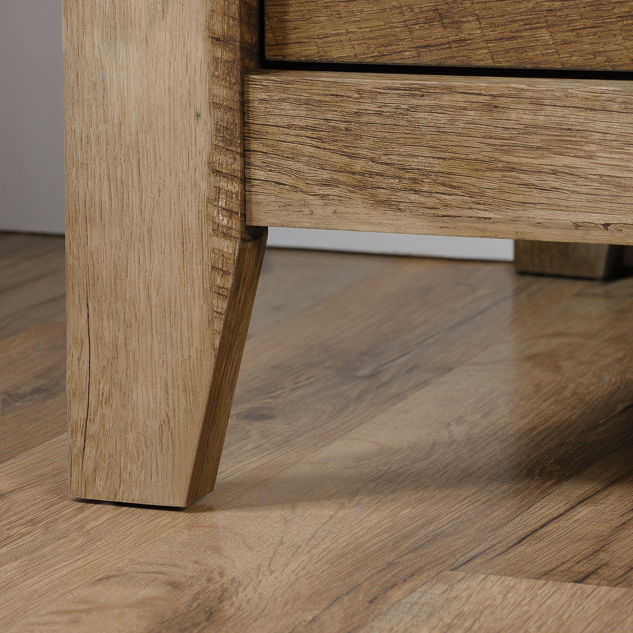 Sauder 419077 Dakota Pass Armoire, 33.78'' L x 19.53'' W x 57.84'' H, Craftsman Oak finish by Sauder (Image #11)