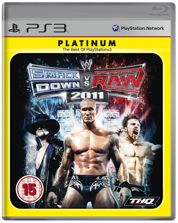 WWE Smackdown vs Raw 2011 - Platinum Edition (PS3): Amazon