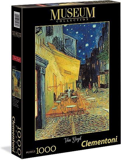Amazon Com Van Gogh Terraza De Café Por La Noche Puzzles
