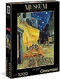 Clementoni - 31470 - Museum Collection Puzzle - Van Gogh, Esterno di Caffè di Notte - 1000 Pezzi