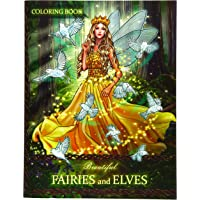 Image for Beautiful Fairies and Elves: Coloring Book For Experienced User (Stress Relief)