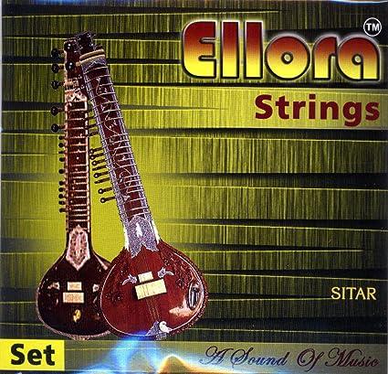 Light 7 Banjira Sitar String Set Pro