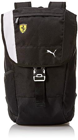48247c730301e Amazon.com: PUMA Men's Scuderia Ferrari Fanwear Backpack, black, One ...