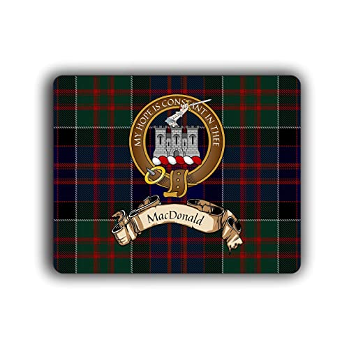 Clan macdonald of clanranald tartan