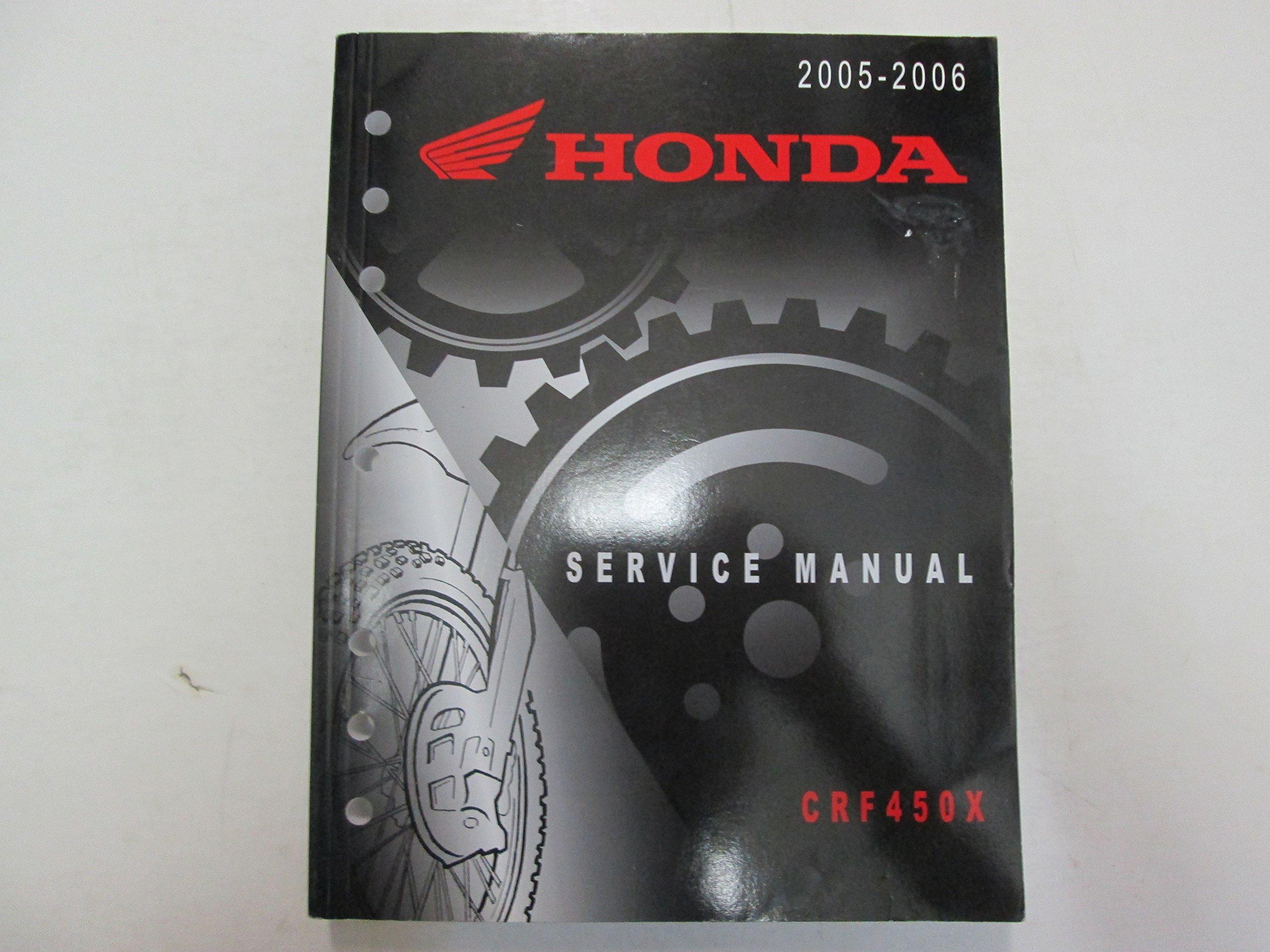 Service manual / 2005 2012 honda crf450x frank! Mxparts.