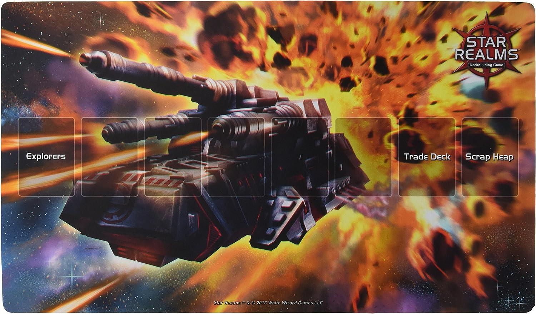 Star Realms Estrella Reinos wwg004 Blanco Asistente Juegos Batalla Mech Alfombra, A Todo Color Imagen: Amazon.es: Juguetes y juegos